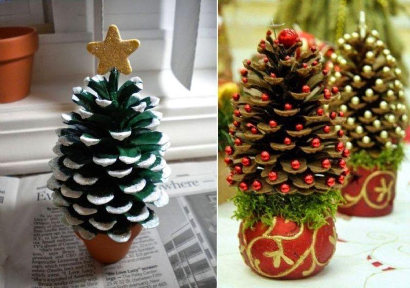 Árvore de Natal com as mãos para o ano novo e # 8212; Idéias fotográficas e mestres estágio 21