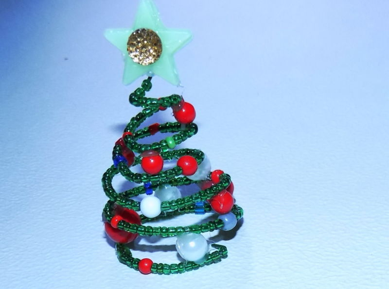 DIY juletræ til nytår & # 8212; fotoideer og mesterklasser trin 8