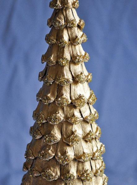 Χριστουγεννιάτικο δέντρο με τα χέρια σας για το Νέο Έτος & # 8212; Ιδέες φωτογραφιών και κύρια μαθήματα Στάδιο 48