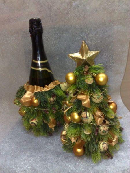 Árvore de Natal com as mãos para o ano novo e # 8212; Ideias fotográficas e mestres estágio 73