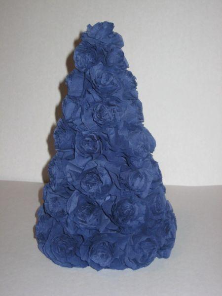 Tělor strom z papíru & # 8212; Schémata a šablony k vytvoření vánočního stromu s vlastními rukama 72