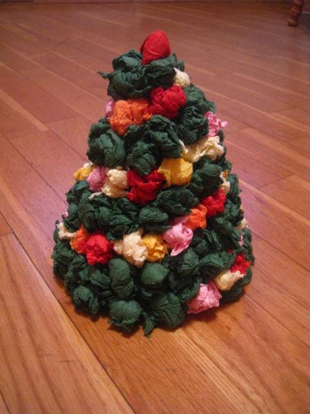 Tělor strom z papíru & # 8212; Schémata a šablony k vytvoření vánočního stromu s vlastními rukama fází 85