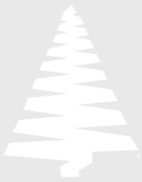 Tělor strom z papíru & # 8212; Schémata a šablony k vytvoření vánočního stromu s vlastními rukama 65