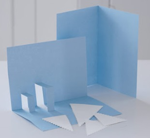 کارت پستال های سال نو آن را برای کودکان انجام دهید: کلاس های کارشناسی ارشد و قالب های کارت پستال برای سال جدید 2021 مرحله 29
