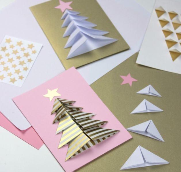 کارت پستال های سال نو آن را برای کودکان انجام می دهند: کلاسهای کارشناسی ارشد و قالب های کارت پستال برای سال نو 2021 مرحله 22