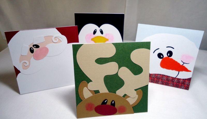 کارت پستال های سال نو آن را برای کودکان انجام می دهند: کلاس های کارشناسی ارشد و قالب های کارت پستال برای سال جدید 2021 مرحله 53