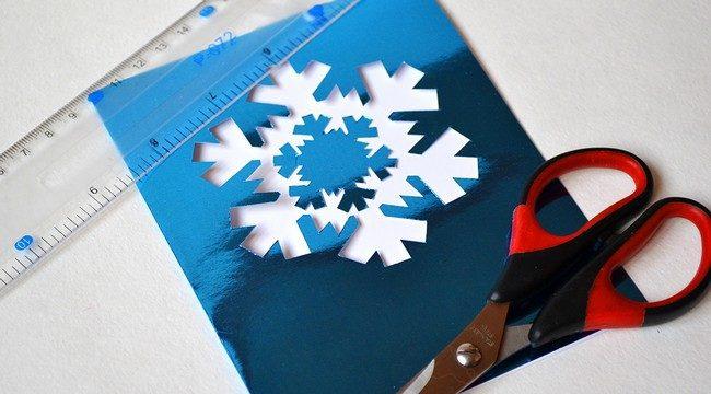 کارت پستال های سال نو آن را برای کودکان انجام می دهند: کلاس های کارشناسی ارشد و قالب های کارت پستال برای سال نو 2021 مرحله 81