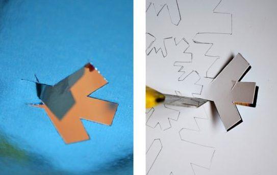 کارت پستال های سال نو آن را برای کودکان انجام دهید: کلاس های کارشناسی ارشد و قالب های کارت پستال برای سال جدید 2021 مرحله 77