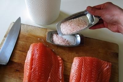 Salmon sốt muối thấp & # 8212; 7 Giải công thức nấu ăn cá hồi tại sân khấu 4