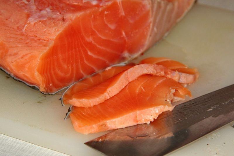 Salmon sốt muối thấp & # 8212; 7 công thức cá hồi cá hồi ở sân khấu 28