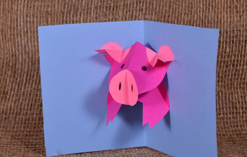 کارت پستال های سال نو آن را برای کودکان انجام دهید: کلاس های کارشناسی ارشد و قالب های کارت پستال برای سال نو 2021 مرحله 111