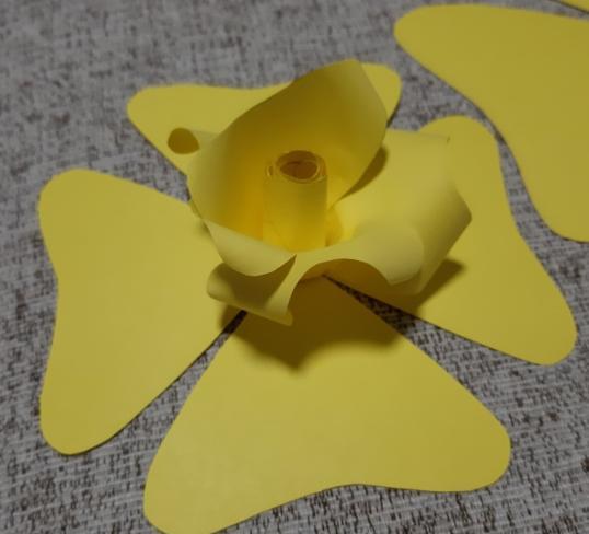 Paper Flowers & # 8212; Mga scheme at mga template para sa paglikha ng mga kulay ng papel na yugto 26.