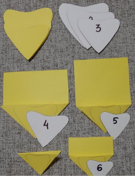 Paper Flowers & # 8212; Mga scheme at mga template para sa paglikha ng mga kulay ng papel na yugto 22.