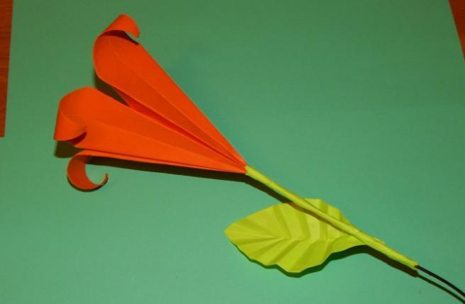 Paper Flowers & # 8212; Mga scheme at mga template para sa paglikha ng mga kulay ng papel na yugto 125.