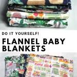 Diy Flannel Receiving Blankets 3 Easy Ways Kara Metta