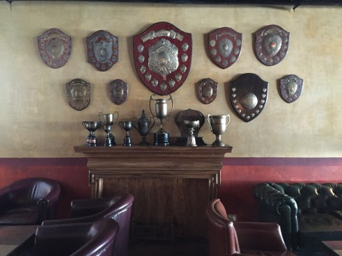 Trophies at Odeon Social