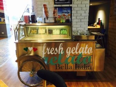 Bella Italia: Gelato cart