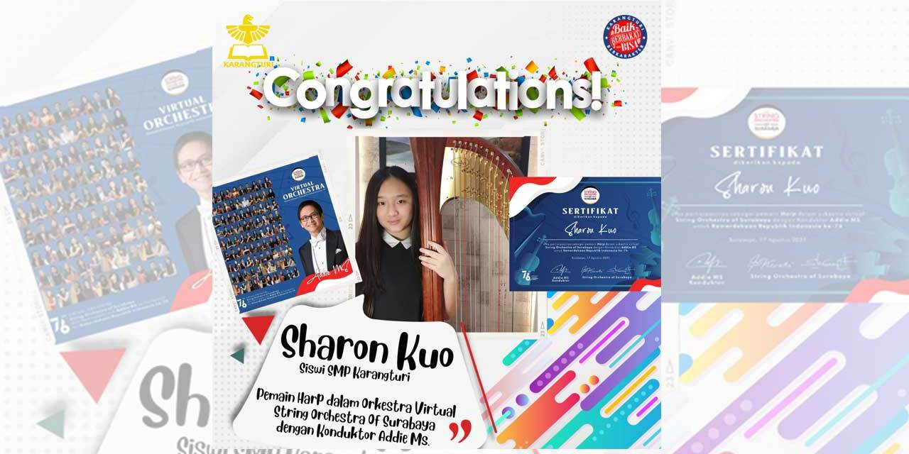 Congratulations! Sharon Kuo
