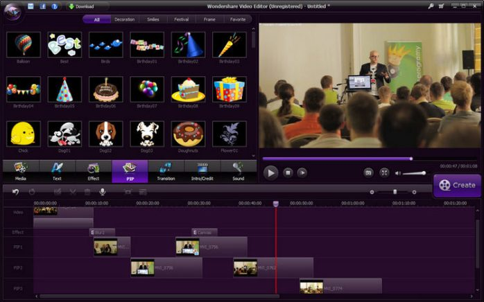 Wondershare Video Editor 5.1.3.15 Full Download