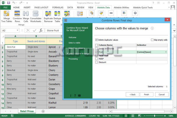Ablebits Ultimate Suite For Microsoft Excel 2018