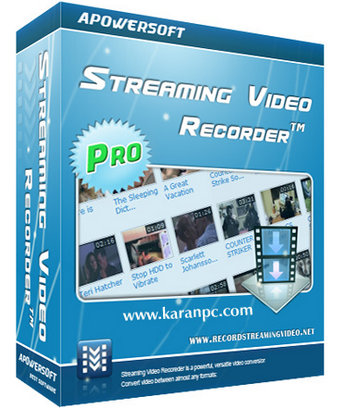Apowersoft Streaming Video Recorder Full Version