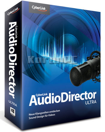 CyberLink AudioDirector Ultra 8 Full Version