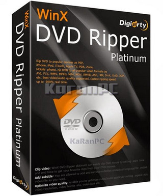 WinX DVD Ripper Platinum 8 Full Download
