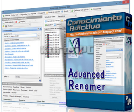 Advanced Renamer 3.78 Final + Portable