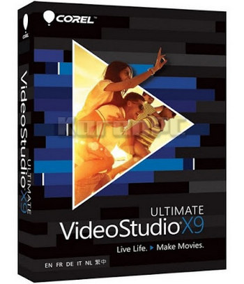 Corel VideoStudio Ultimate X9 with Content
