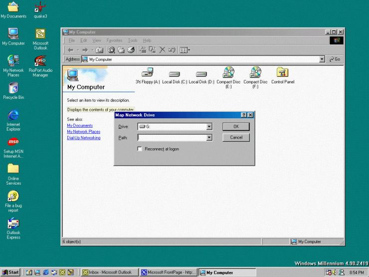 Windows 98 OS