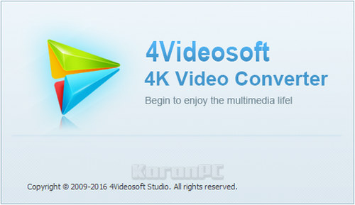 4Videosoft 4K Video Converter