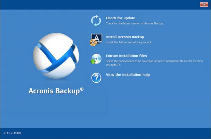 Acronis Backup Advanced Server Bootable ISO
