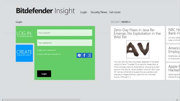 Bitdefender Insight for Windows 8 / Windows 10 - Karan PC