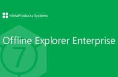 MetaProducts Offline Explorer Enterprise 7.5.4610