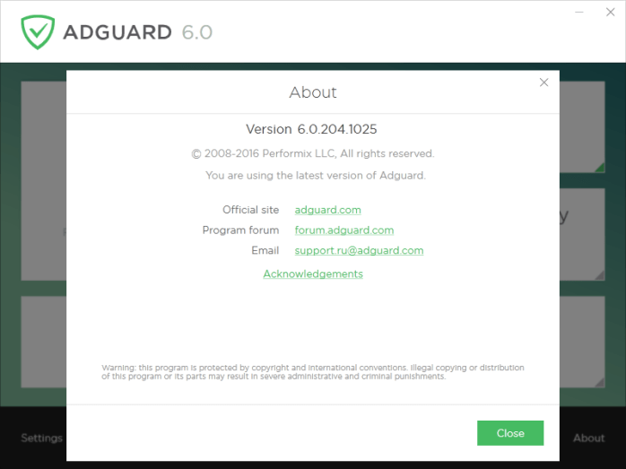 Adguard Giveaway 6 month