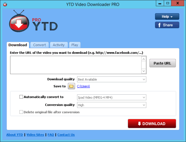 YouTube Downloader (YTD) Pro 5 9 13 4 + Portable - Karan PC