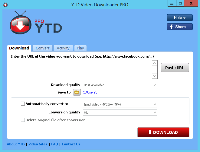 YTD Video Downloader Pro 5.8