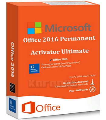 Portable Office 2016 Permanent Activator Ultimate - Karan PC