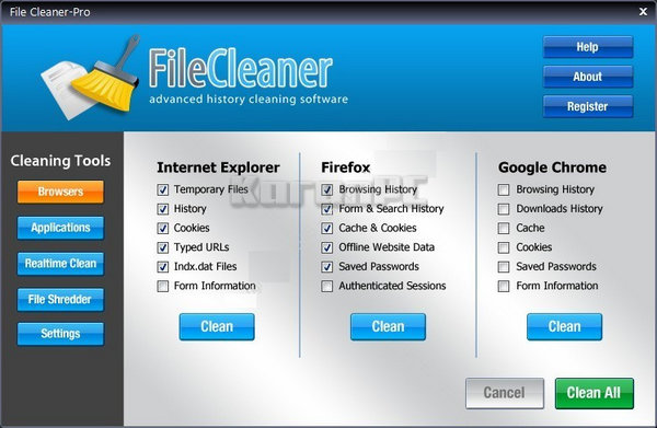 WebMinds FileCleaner