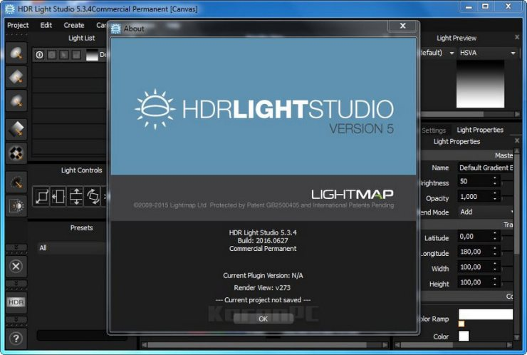 Lightmap HDR Light Studio Crack