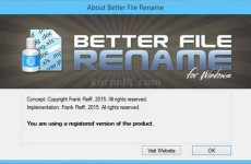 Better File Rename 6.23 Free Download [Latest]