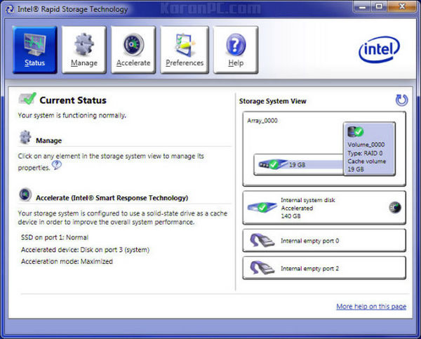 Download Intel Rapid Storage Technology Driver Free