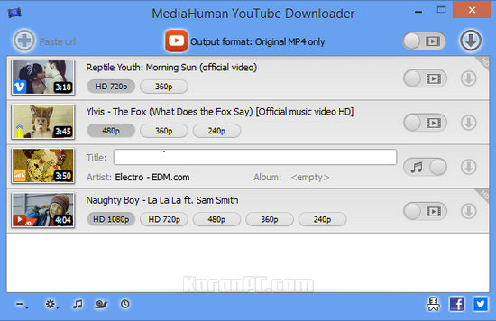 MediaHuman YouTube Downloader Serial Key