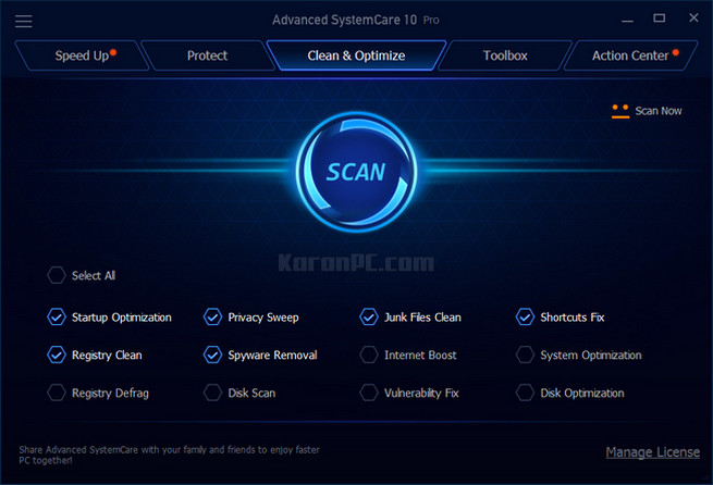 Advanced SystemCare PRO 10.3