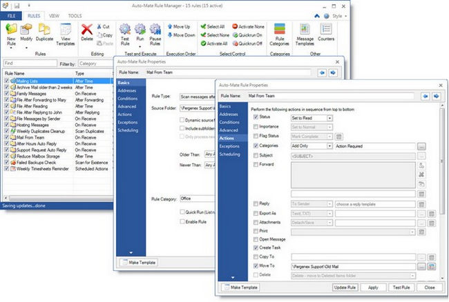 Auto-Mate Pro Add-in for Microsoft Outlook
