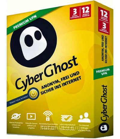 CyberGhost VPN 6.5.1.3377 Full Download