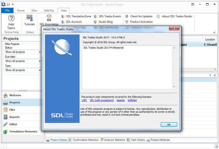 SDL Trados Studio 2017 Pro 14 Full Version
