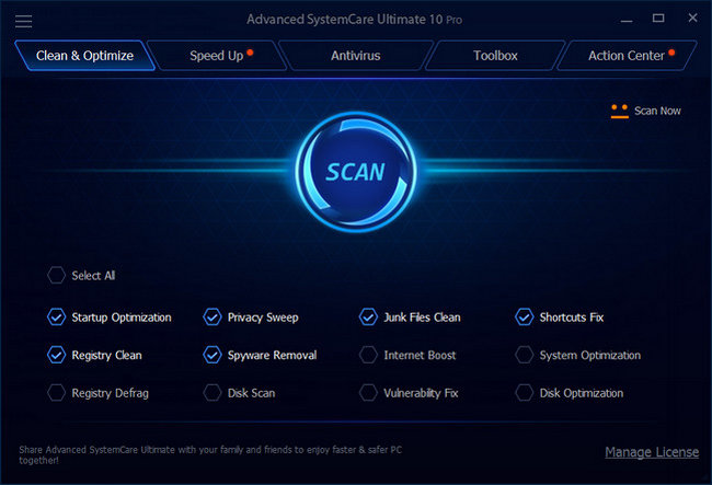 advanced systemcare ultimate key 11.2