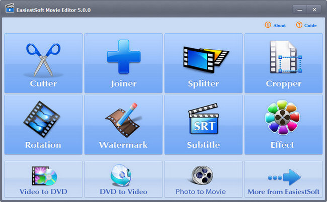 EasiestSoft Movie Editor 5.1