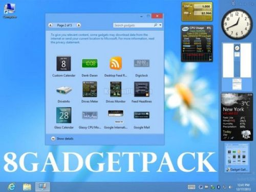 Download 8GadgetPack free
